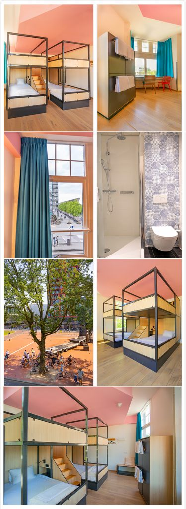 4 person private room - Sparks Hostel Rotterdam Netherlands