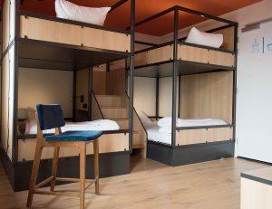 Quad Room Sparks Hostel Rotterdam